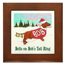 """BELLS ON BOB'S TAIL RING"" Framed Tile"