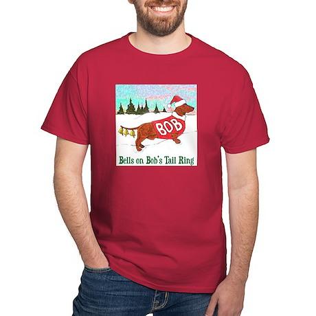 """BELLS ON BOB'S TAIL RING"" Dark T-Shirt"