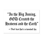 In the Big Inning Mini Poster Print