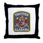 Alabama Trooper Throw Pillow