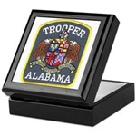 Alabama Trooper Keepsake Box