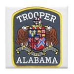 Alabama Trooper Tile Coaster