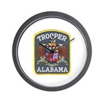 Alabama Trooper Wall Clock