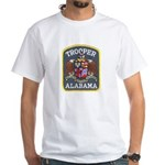Alabama Trooper White T-Shirt