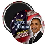 Cute Re elect obama 2012 Magnet
