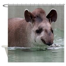 Tapir001 Shower Curtain