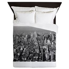 Empire State Building NYC Queen Duvet