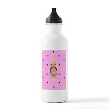 Princess Monkey Polka  Water Bottle