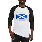 Musselburgh Scotland Baseball Jersey