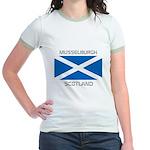 Musselburgh Scotland Jr. Ringer T-Shirt