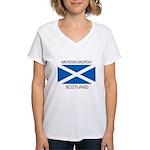 Musselburgh Scotland Women's V-Neck T-Shirt