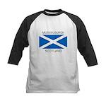 Musselburgh Scotland Kids Baseball Jersey