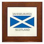 Musselburgh Scotland Framed Tile