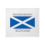 Musselburgh Scotland Throw Blanket