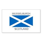 Musselburgh Scotland Sticker (Rectangle 10 pk)