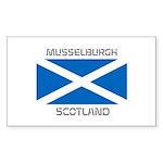 Musselburgh Scotland Sticker (Rectangle 50 pk)