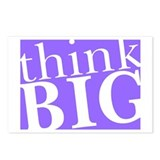 Think Big Postcards (Package of 8)