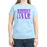 Think Big Women's Pink T-Shirt