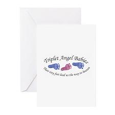 Triplet Angels BGB Greeting Cards (Pk of 10)