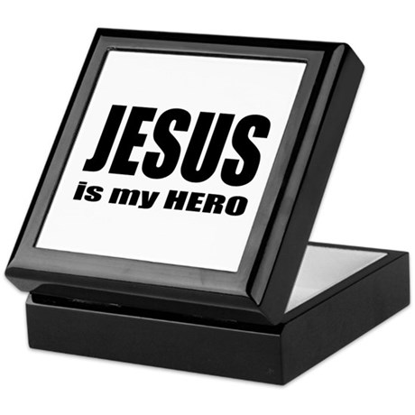 Jesus is Hero Keepsake Box