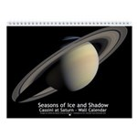 Cassini at Saturn small wall calendar