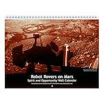 Mars Rovers small wall calendar