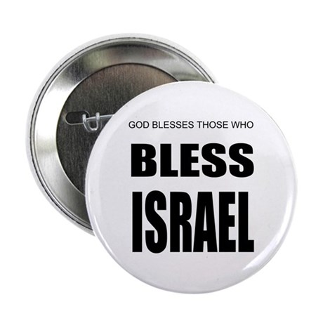 "Bless Israel 2.25"" Button (10 pack)"