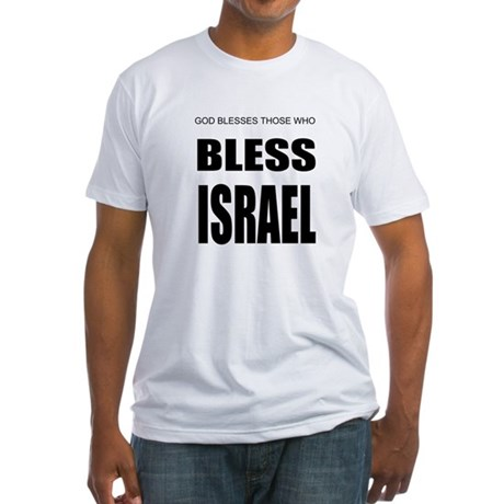 Bless Israel Fitted T-Shirt