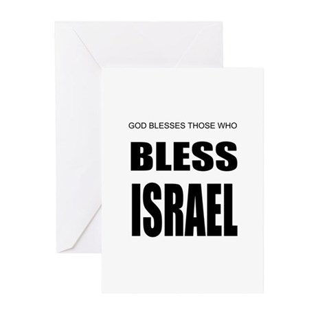 Bless Israel Greeting Cards (Pk of 10)