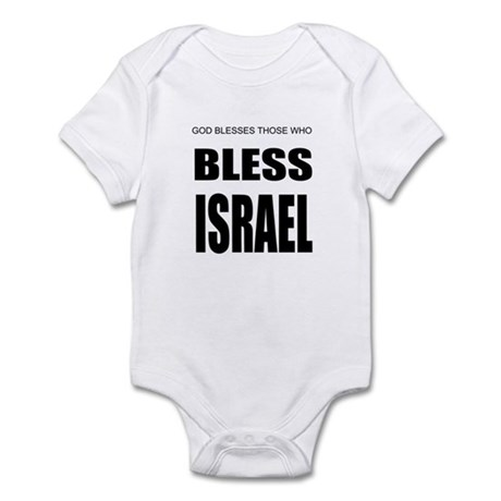 Bless Israel Infant Bodysuit