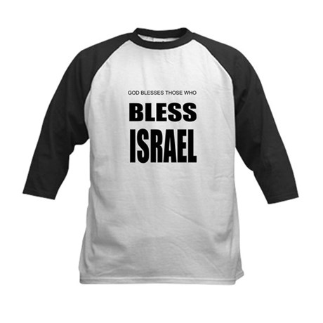 Bless Israel Kids Baseball Jersey