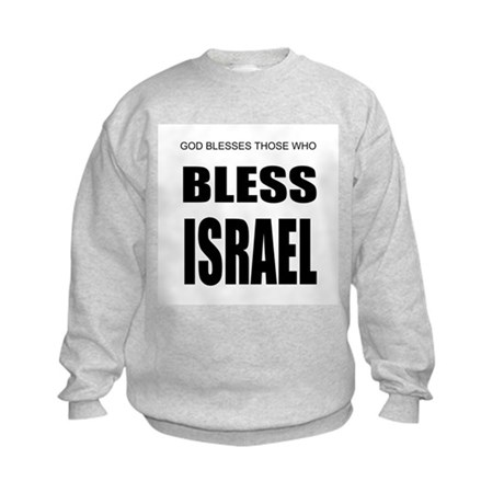 Bless Israel Kids Sweatshirt