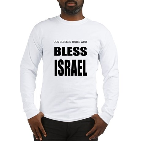 Bless Israel Long Sleeve T-Shirt