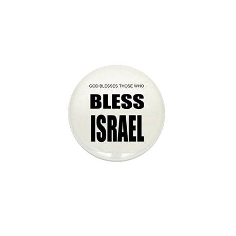 Bless Israel Mini Button