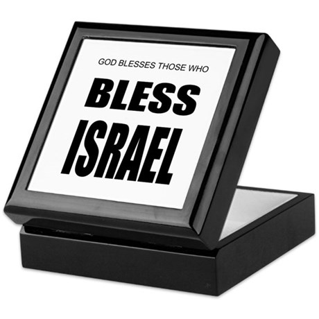 Bless Israel Keepsake Box
