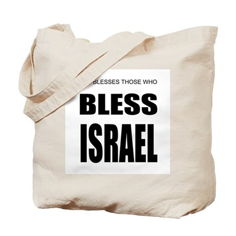 Bless Israel Tote Bag