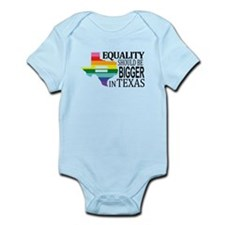 Equality should be bigger in Texas blk font Body S