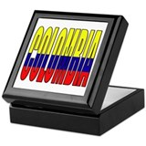 Colombia Keepsake Box