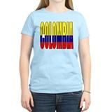 Colombia Women's Pink T-Shirt