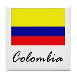 Colombia Tile Coaster