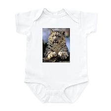 Unique Snow leopard cub Infant Bodysuit
