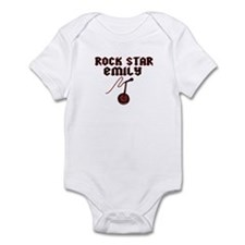 """Rock Star Emily"" Onesie"