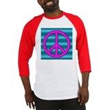 Peace Symbol Sign Baseball Jersey