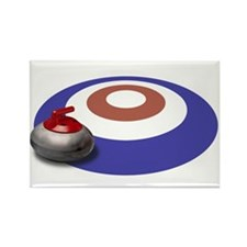 CURLING Rectangle Magnet (100 pack)
