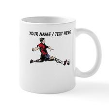 Custom Soccer Player Mugs