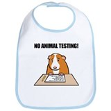 No Animal Testing! Bib