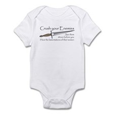 Crush Your Enemies Infant Bodysuit