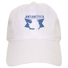 Antarctic flag ribbon Baseball Cap