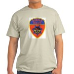 Downey Police Ash Grey T-Shirt