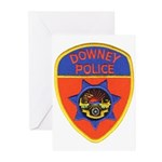 Downey Police Greeting Cards (Pk of 10)